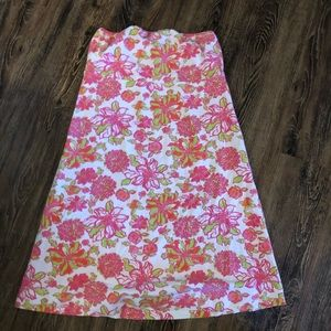 Lilly Pulitzer strapless reversible dress
